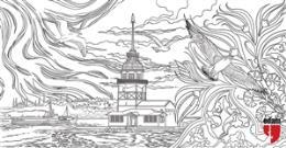 8680793700312 Istanbul Tablo Boyama Serisi 6 Kız Kulesi